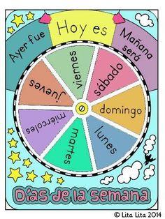 Spanish Worksheets, Spanish Vocabulary, Spanish Activities, Spanish Language Learning, Teaching Spanish, Spanish Teacher, Spanish Classroom, Preschool Learning, Preschool Activities