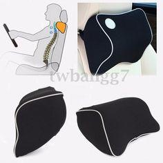 Universal Car Seat Headrest Pad Memory Foam Travel Pillow Head Neck Rest Cushion Car Seat Headrest, Neck Pillow, Memory Foam, Car Seats, Cushion, Pillows