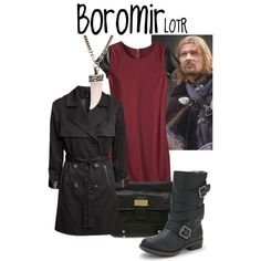 Boromir by evil-laugh on Polyvore featuring Mossimo, H&M, Cosmopolitan, ASOS, lotr, boromir and fellowshipofthering