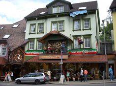 House of 1,000 clocks- Triberg, Germany  spring break 2012