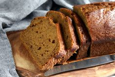 This hearty pumpkin bread is a sophisticated twist on the traditional version with the addition of bourbon (teetotalers can substitute apple cider), browned butter and cardamom.