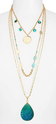 pretty layered necklaces http://rstyle.me/n/mc6p5r9te
