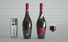 MonReve Dry Red Wine Cinema 4D & Maxwell Render Studio Setup_01