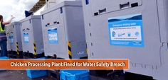Chicken Processing Plant Fined for Water Safety Breach Chicken Processing, Water Safety, Water Supply, Poultry, Plants, Backyard Chickens, Plant, Planets