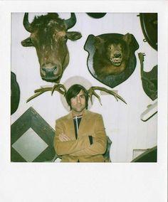 Jason Schwartzman   26 Fascinating Polaroids Of Celebrities