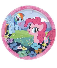 My Little Pony Party Kit, My Little Pony Plates, My Little Pony Birthday