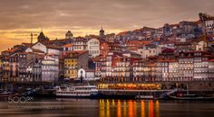 Houses by the river by polvo_4