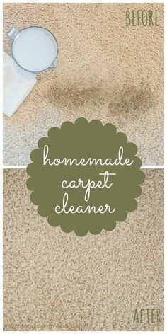homemade carpet cleaner