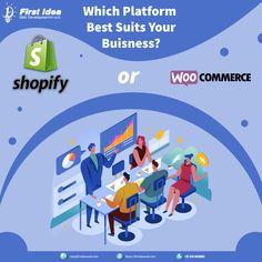 Which Platform Best Suits your Business? WooCommerce or Shopify Suits You, Cool Suits, Building A Website, Buisness, Wordpress, Web Design, Articles, Platform, Design Web