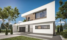 Habitat Collectif, 3d Rendering, Cozy House, Garage Doors, Architecture, House Styles, Outdoor Decor, Home Decor, Google