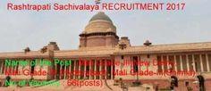 Rashtrapati Sachivalaya President's Secretariat invites the application form of Mali Grade-III By direct recruitment of Police Jobs, Railway Jobs, Bank Jobs, Teaching Jobs, Government Jobs