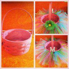 Easy TuTu Easter Basket