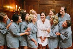Bridesmaids Robes | Bridal Style | Bride | Scarritt Bennett Center #exploreinfinitenashville