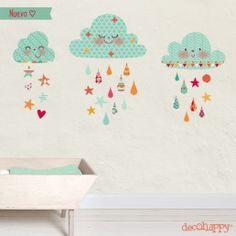 vinilos bebe nubes de algodon azules Clip Art, Nursery, Inspiration, Smile, Home Decor, Patterns, Colors, Wall Decals, Globes