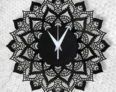 Mandala - Relógio de Parede - Vinil
