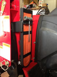 Chainsaw and tool Holder