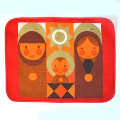 Sodahl Christmas Placemat Set now featured on Fab.