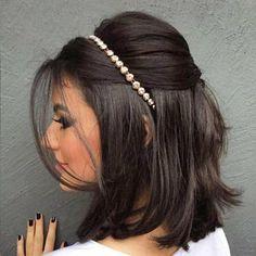 Ideia linda de penteado