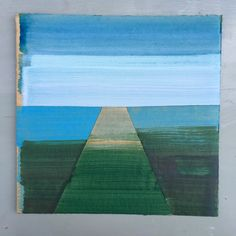 #landscape #groningen #painting #horizon #holland #dutch