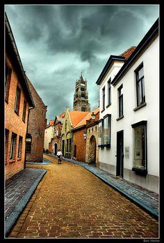 Bruges by Ben Heine, via Flickr