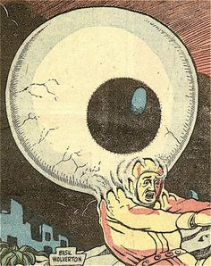 Basil Wolverton. A hungry eye!