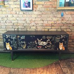 SALE Upcycled Vintage Retro Mid Century 1950's Gplan Sideboard Decoupage in Home, Furniture & DIY, Furniture, Sideboards, Buffets & Trolleys | eBay
