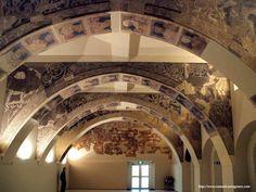 Sala capitular del Monasterio de Sigena. Atribuido al Maestro de la Hoja Morgan.