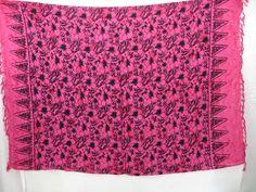 floral print pink sarong $4.95 - http://www.wholesalesarong.com/blog/floral-print-pink-sarong-4-95/