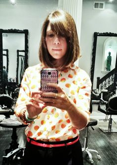 My New Haircut - What do you think of my chic long bob?! SnapGinger Blog!