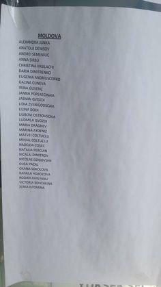 Списки на получение ИКАМЕТ в Турции
