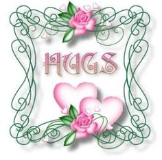 Hugs for you both Tena and Tom. Praying for strength and courage every day.