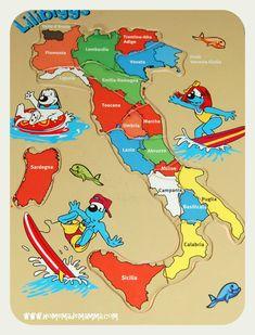 cartina italia puzzle