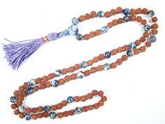 Rudraksha Lapis Lazuli Mala Spiritual Yoga Meditation Energy Beads- Inner Truth and Deep Peace Mogul Interior http://www.amazon.com/dp/B00W1D57WU/ref=cm_sw_r_pi_dp_USrVvb1P72JWM