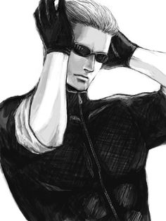 The ever so handsome Albert Wesker ~