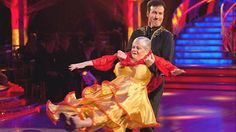 Not the most elegant from Strictly Come Dancing