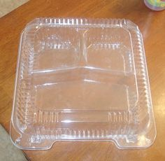 No this is not a post about being green. But it is about reusing something you would normally throw away. I heard somewhere that a #6 plastic container can be used like shrinky dinks. So I put it t…
