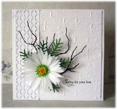 Tortured Willow Sympathy by frenziedstamper - Cards and Paper Crafts at Splitcoaststampers