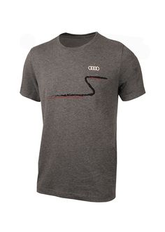 Join the League of Performance with this heather greyquattro t-shirtfrom Audi.