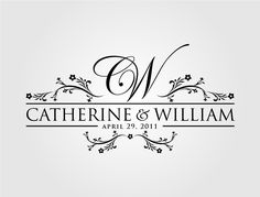 Check out this design for William & Catherine by MycroBurst.com