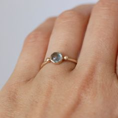Items similar to Swiss Topaz Gold Ring - Blue Topaz Ring - Topaz Gold Dot Ring- Eco-Friendly Recycled Gold on Etsy Gemstone Jewelry, Silver Jewelry, Delicate Gold Necklace, Topas, Wedding Rings Vintage, Blue Topaz Ring, Cute Jewelry, Beautiful Rings, Jewelry Design