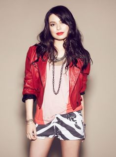 Miranda Cosgrove. I have been a fan of hers for years now! Still love and support her! :))