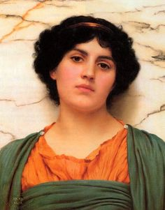 The Athenaeum - Palmira (John William Godward - )