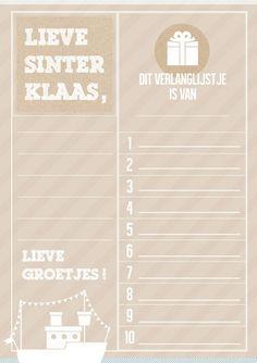 Sinterklaas verlanglijstje van Joyce Koornneef