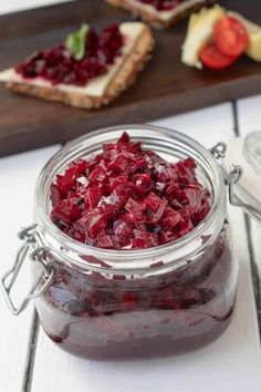 Slightly sweet and a little pickled, this Beet Relish is a delicious side dish that has so many uses that is made quickly, but can be kept for months. #pickledbeets #beetrelish #chutney Pickled Beets Recipe, Fresh Beets, Relish Recipes, Scottish Recipes, Homemade Spices, Jamaican Recipes, Make Ahead Meals, Chutney, Side Dish