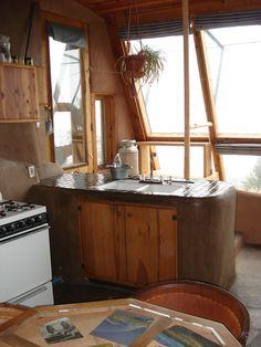 Earthship Kitchen Sink