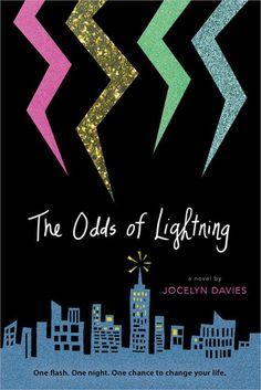 #CoverReveal: The Odds of Lightning - Jocelyn Davies