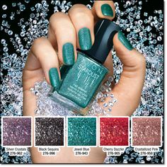 Going to a party, no time to go to parlor get this Nail polish that don't need design just wear it and you nail got sparkle...   go visit www.youravon.com/fsehhati