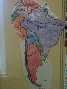 Test your geography knowledge - South America countries   Lizard ...