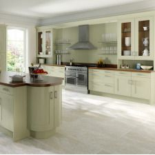 The Sheraton Painted Wood Shaker kitchen comes in a shaker style with a solid timber finish. Browse the kitchen features and find a retailer near you. Old Cabinets, Kitchen Cupboards, Kitchen Paint, New Kitchen, Shaker Kitchen Inspiration, Victorian Terrace House, Range Cooker, Shaker Style, Kitchen On A Budget
