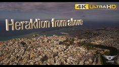 Heraklion from above   Το Ηράκλειο από ψηλά - AirFootage.gr [4K]
